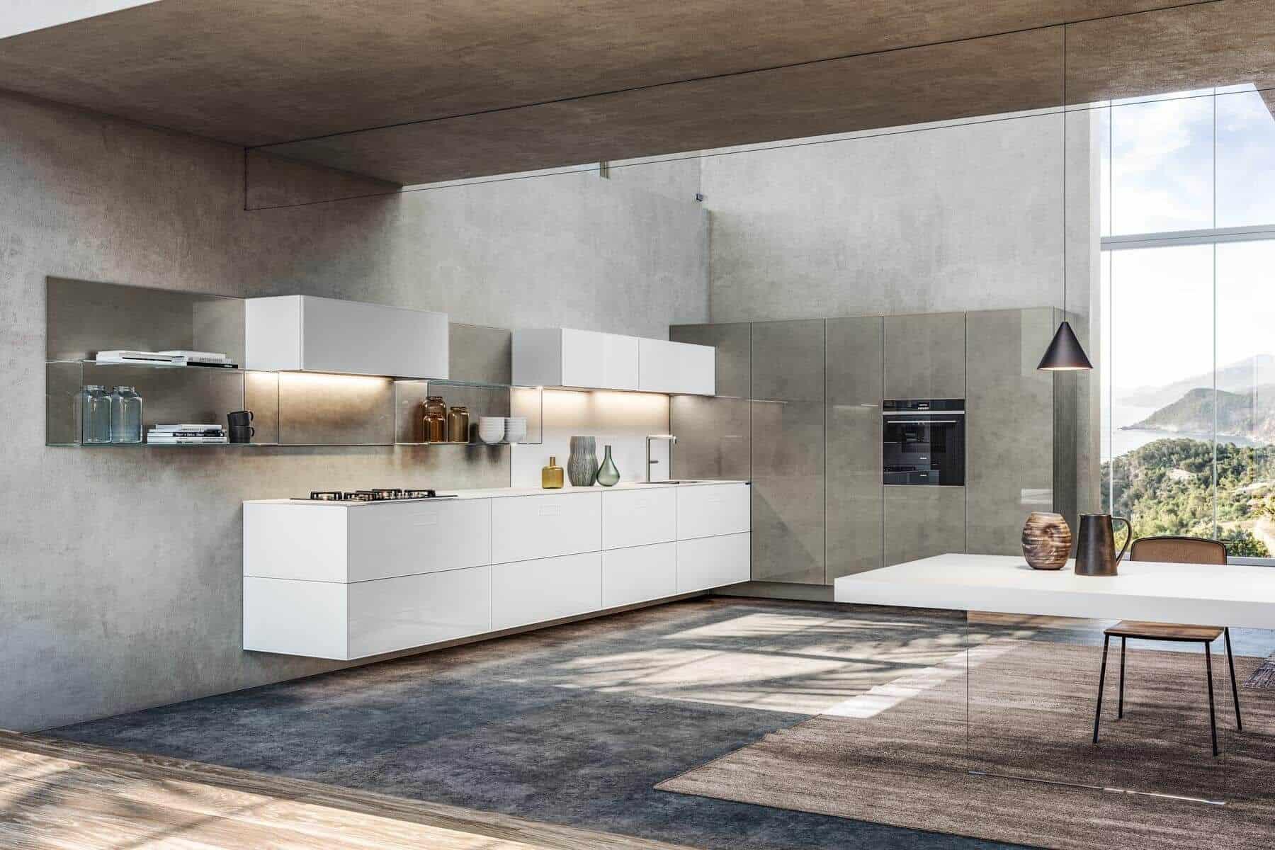 Кухня 36e8 Glass