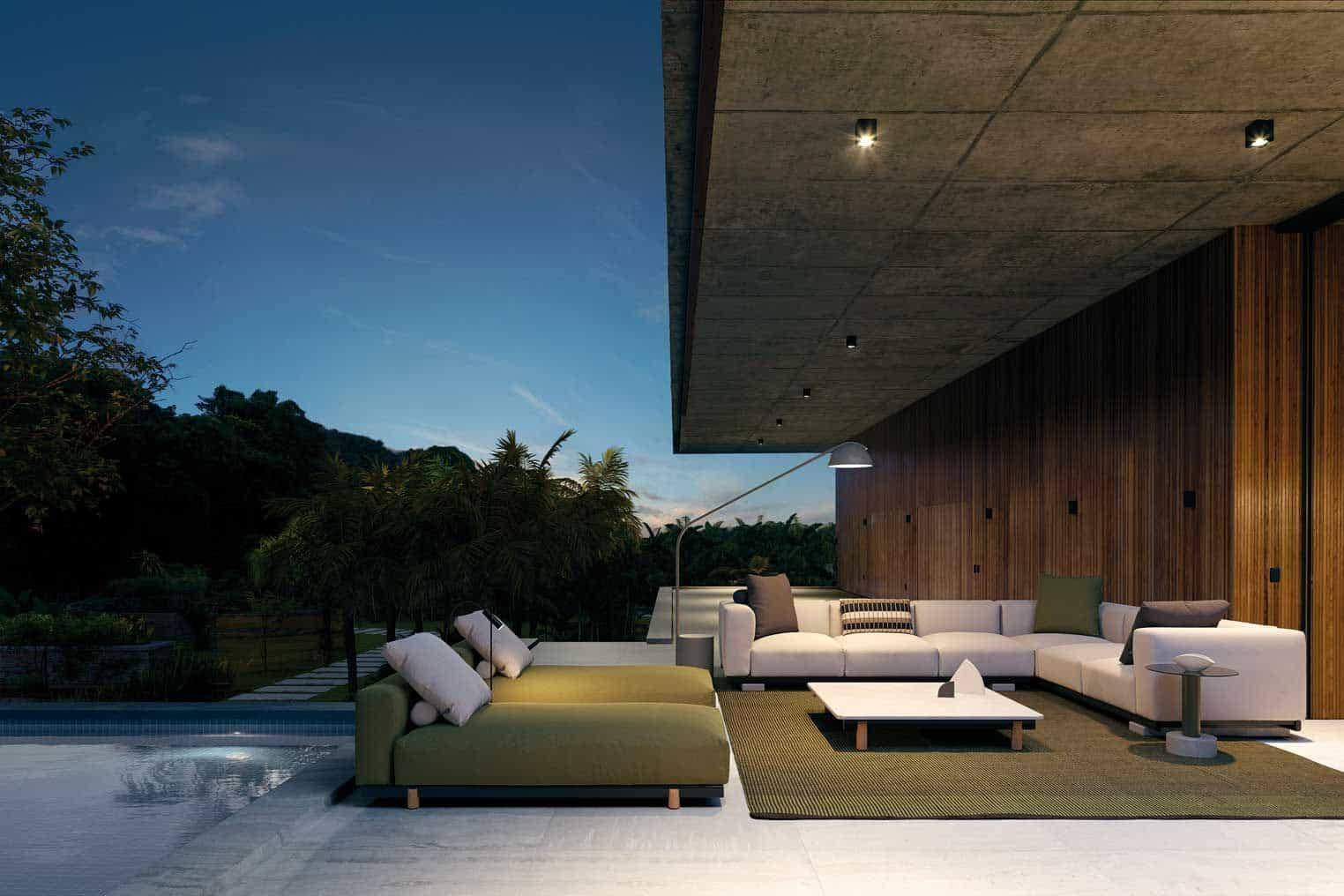Мебели за външни условия Molo